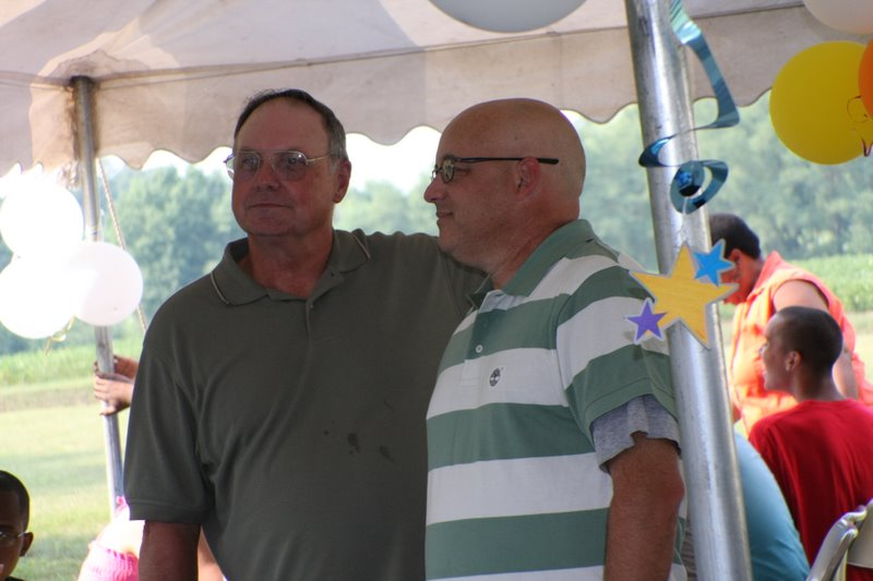 THP Troopers Larry Gladden (ret.) and Rick Bien