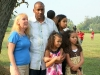 Orville and his girls- wife Carol and granddaughters Destiny, Precious and  Aliyah