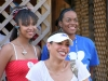 Neices Julie, Myla and Ashlee West-\'It\'s all smiles here!\'