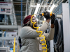 LG's $360 million washing machine factory, believed to be the most advanced, in the world, already employs more than 550 skilled American workers who are helping to accelerate delivery of LG's innovative home appliances.