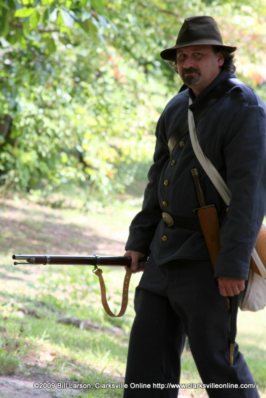 An image from the past, nah just one of the many reenactors
