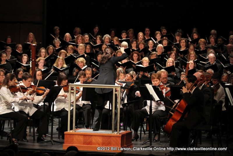 The Nashville Symphony Orchestra and Chorus holds first ...