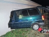 Ford Astro van ran into the side of the Galilean Church on South 20th Street. (Photo by CPD-Officer Mo Dennis)