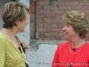 Linda Barnes speaking with Kim McMillan