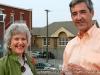 Picnic Host Tim Harvey with Deborah Brown