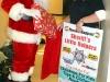 Santa with his helper Julie Wright