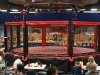 the octagon shaped steel cage
