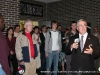 APSU President Tim Hall introduces the exhibit