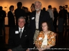 APSU President Tim Hall with Jim and Nan Robertson at the opening reception