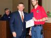 Montgomery County Mayor Jim Durrett presents Lifesaver Award to Seven First Responders