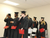 Jeremy Martin-Proctor, Dalton Lawrence, Cedric Laster, Tollie Thomas, Joseph Stewart, De'Norris Franklin, Britteny Mostella, Hanna Edwards, and Kiersten Napodano received their high school equivalency diplomas in a ceremony held at the jail chapel.