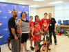 24 bicycles were given away to local elementary school students by the Sunrise Rotary Club and Rotary Youth Leadership Awards with the help of the Montgomery County Sheriff's Office.