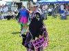 Powwow Princess Shay Konnze in Fancy Shawl Dance regalia