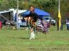 Moki Washington begins The Hoop Dance