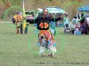 Hoop Dancer Moki Washington with eight rings