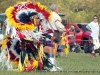 Grass Dancer on one knee