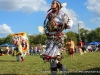 Lady Jingle Dancer and a Grass Dancer
