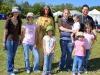 Barbie Harrison with members of the Marsten-Cerveny family