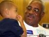 Robert Lewis & grandson