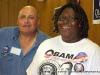 Volunteers Steven Gooch and Joanne Lantz
