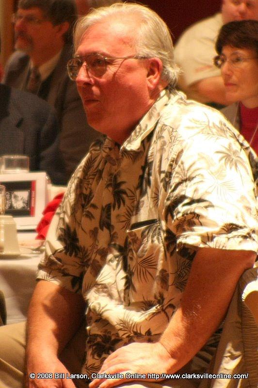 Dr. Richard Gildrie, professor emeritus of history
