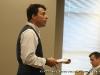 Dr. Ribidoux introduces Garret Spivey
