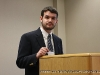 """Garrett Spivey gives his presentation \""""From Southern Populist to Constitutional Champion\"""""""