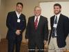 Dr. Gerg Ribidoux, APSU President Tim Hall and Garrett Spivey of Lee University represented Panel 13
