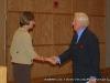 Professor Uffleman welcomes John Seigenthaler Sr.