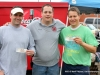 Jimmy McGuffin (left) and Gary Ferguson (right) came in second place in the second Cornhole Tournament. They won sounds tickets courtesy of ClarksvilleOnline and ClarksvilleSportsNetwork. Palmyra Volunteer Fire\'s Jason Smith (center).