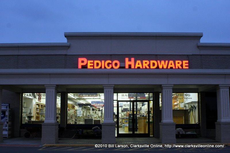 Pedigo Hardware Continues Their Long Tradition Of Customer