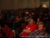 A packed house listens to Peter Jordan give his presentation
