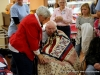 Quilting in Clarksville presents 15 Quilts of Valor at Tennessee Veteran's Home
