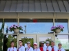 The staff of Ragazza Pizza at the grand opening