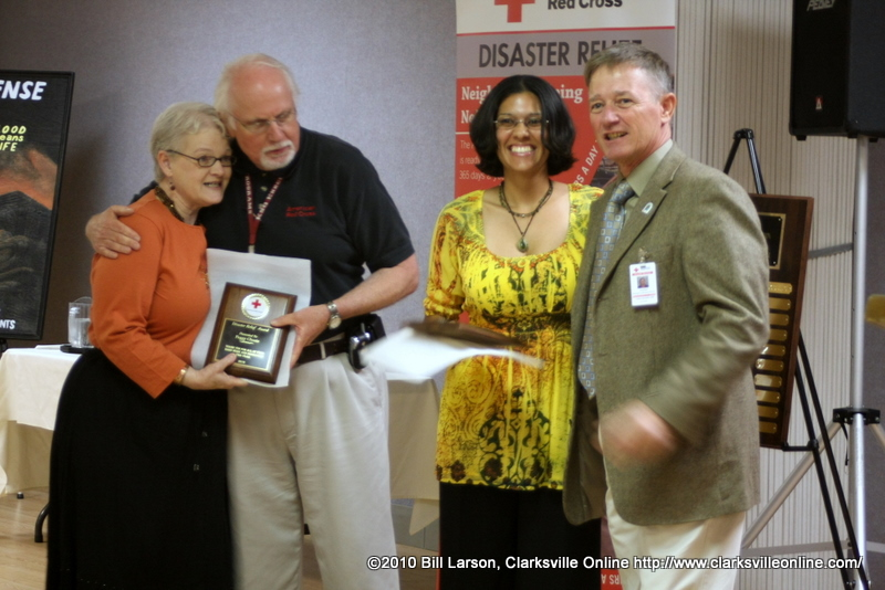 Wyatt Johnson Gmc >> American Red Cross honors volunteers and unveils new ERV - Clarksville, TN Online