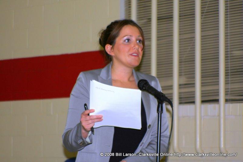 Institute for Justice Representative Christina Walsh
