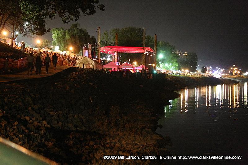 Riverfest Friday evening