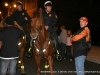 City councilman James R. Lewis speaks with members of Clarksville PD\'s mounted patrol