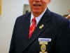 Chaplain Bob Mitchell represented the Clarksville Police Department