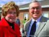 Montgomery County Mayor Carolyn Bowers with APSU President Tim Hall
