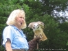 Dale Stokes of SOAR with a Red-tailed hawk