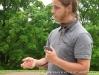 Nathan Parker shows us a tiger salamander