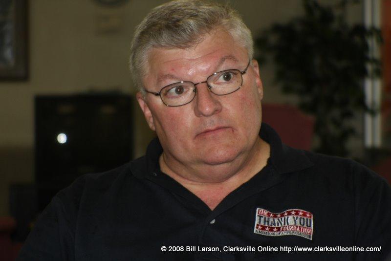 Terry Morgan, tandem jump coordinator