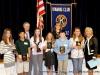 The Middle School Essay winners.
