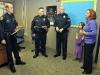 Councilwoman Kaye Jones with award recipients. (Photo by CPD-Jim Knoll)