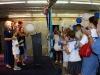 Family Barnes amid the balloons!
