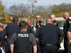 Briefing for special operation. (Photo by CPD-Jim Knoll)