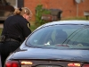 Officer Teresa Bryden on a traffic stop. (Photo by CPD-Jim Knoll)
