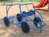 The new playground equipment at Valleybrook Park.