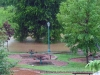 Valleybrook Park during the Flood of 2010.